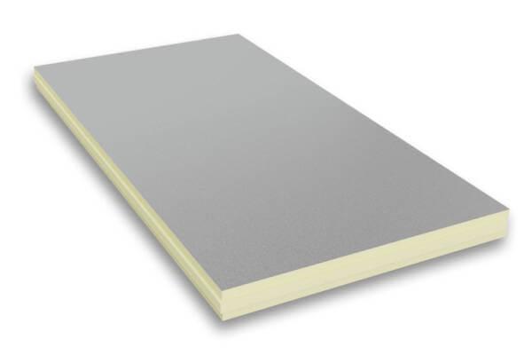 Płyta PIR w okładzinie aluminiowej o grubości 50 mikronów