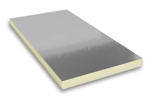 Płyta PIR w wielowarstwowej okładzinie aluminiowej