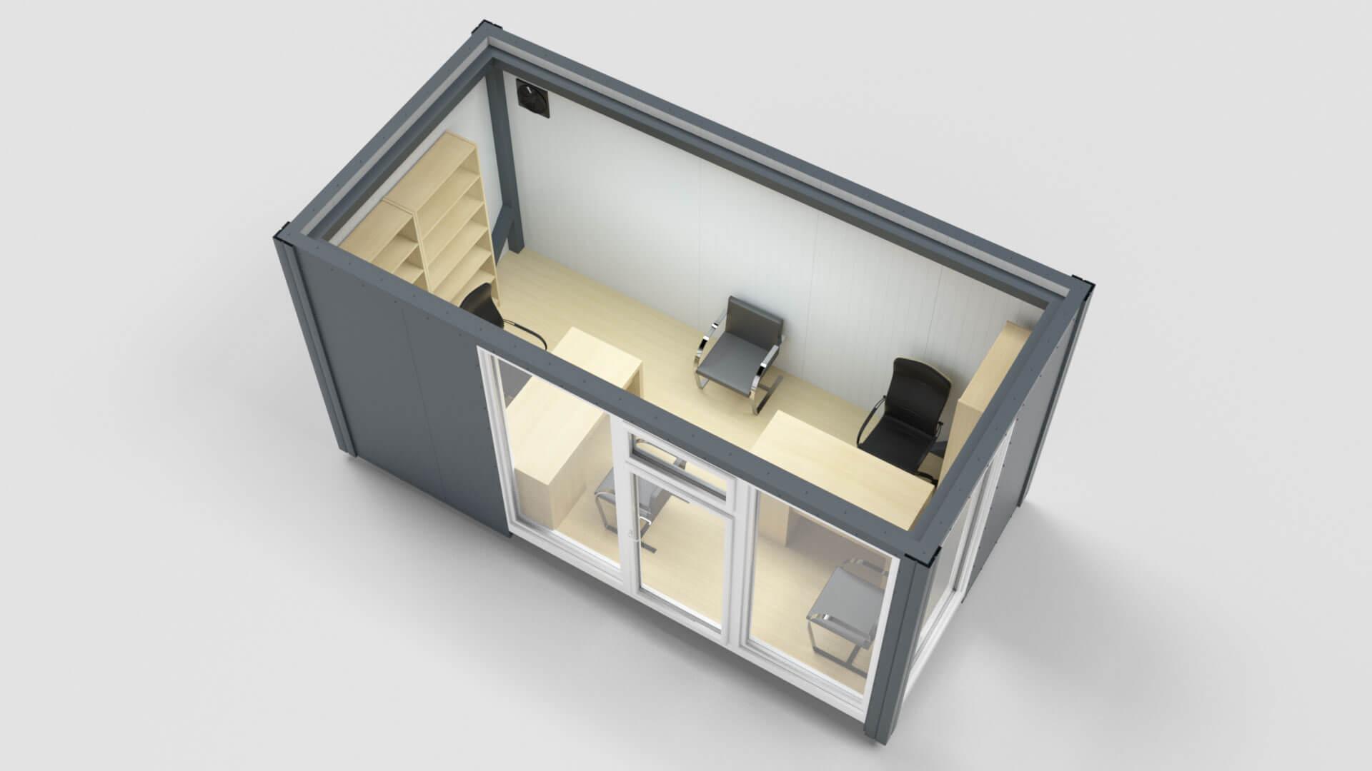 Office Container Pir Panels Sandwich Panels Polyurethane Plates Bokka