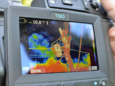 Jak wygląda badanie kamerą termowizyjną ?