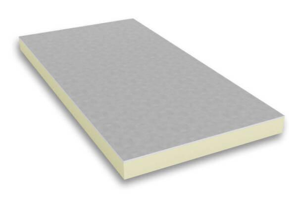 Płyta PIR zespolna z GK w okładzinie aluminiowej